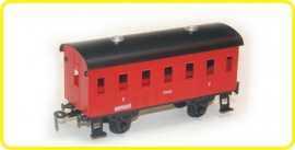 9201 passenger coach CSD series Be red with ventilation