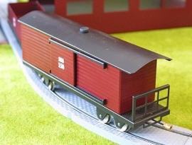 Säksiche Überlandbahn wagon couvert 150, 3000-20-207