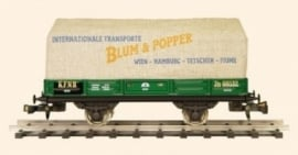 422 wagon, canvas gedekt, Blum and Popper