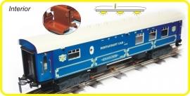 9356 blauw PULLMAN restauratierijtuig