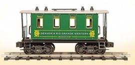 307G DRG coach Denver & Rio Grande Western
