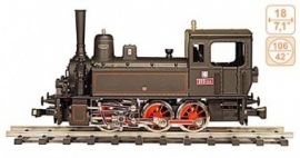 132 steamlocomotive CSD serie 310.0 with turbo