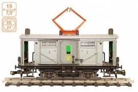 104 E loc Duitsland  vrachtmotortrein, freightcar