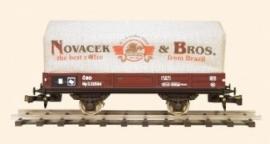421 wagon, canvas gedekt, Novacek and Bros