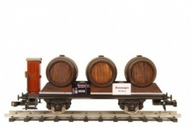 478 wijnwagen drie vaten Duits