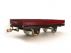 flat car 2 axles  3000-20-215