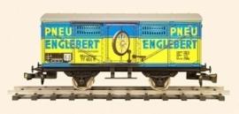438 gedeckter Güterwagen  DR Pneu Englebert