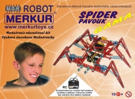 40036 remote controlled spider, spin, l'airangée, die Spinne