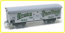 9528 beer van  4 axles Prazdroj Urquell