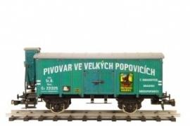 459 bierwagen CSD series Lp Velké Popovice met remmershuis