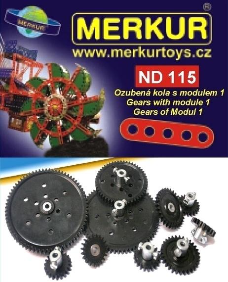 D 115 gears