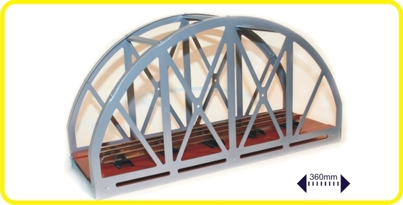 9962 pont en acier, une voie