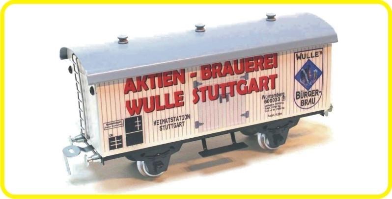 9557 Bierwagen aktien Brauerei Stuttgart DB