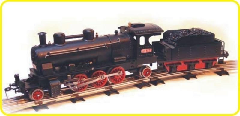 9157 Dampf Lokomotive CSD 354.7117 mit tender