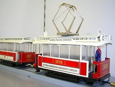 Strassenbahn Dresden Triebwagen 309,  3000-20-114