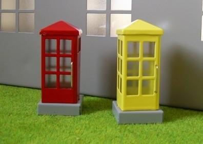 Telefonzelle gelb  3000-80-003G
