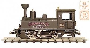 123 Dampflokomotive Bauart 200.0 Zückerfabrik