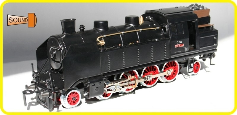 9195 Dampflokomotive CSD 354.108
