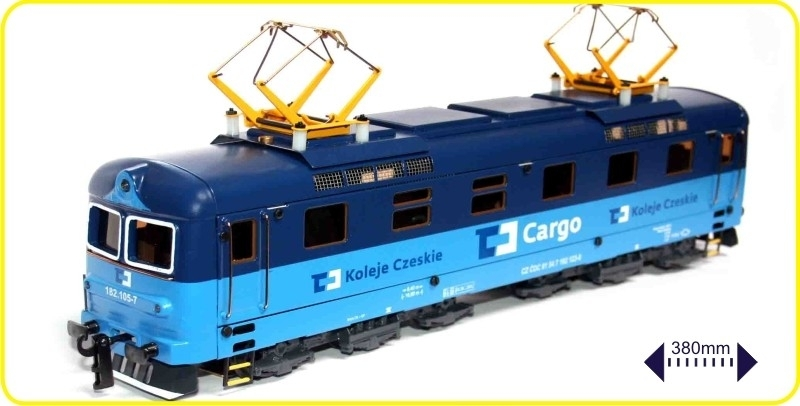 9139 E locomotive Cargo CZ series 182