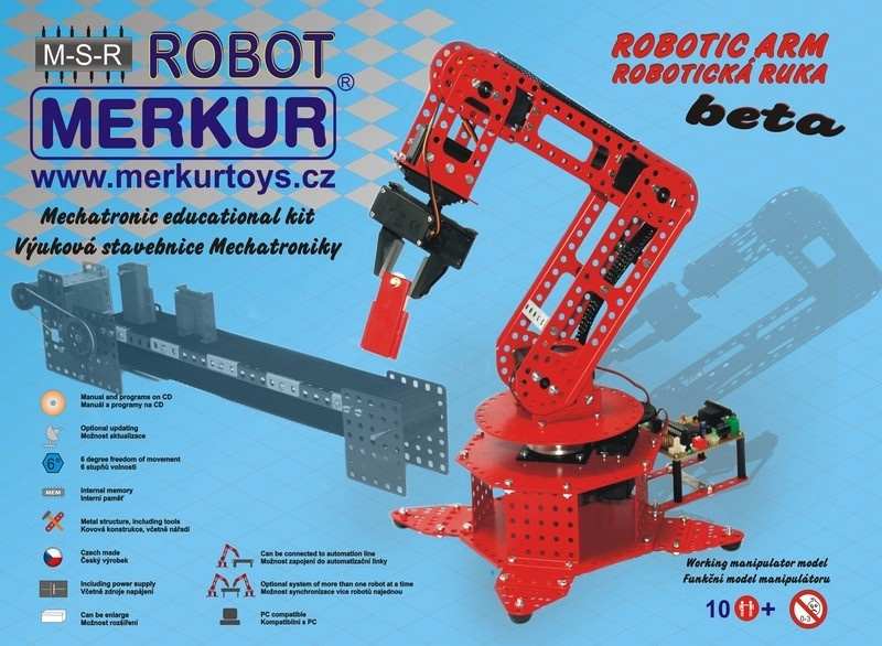 40142 robot arm Beta 6º with control system