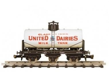 490 milktanker 3 axles LMS Railway United Dairies