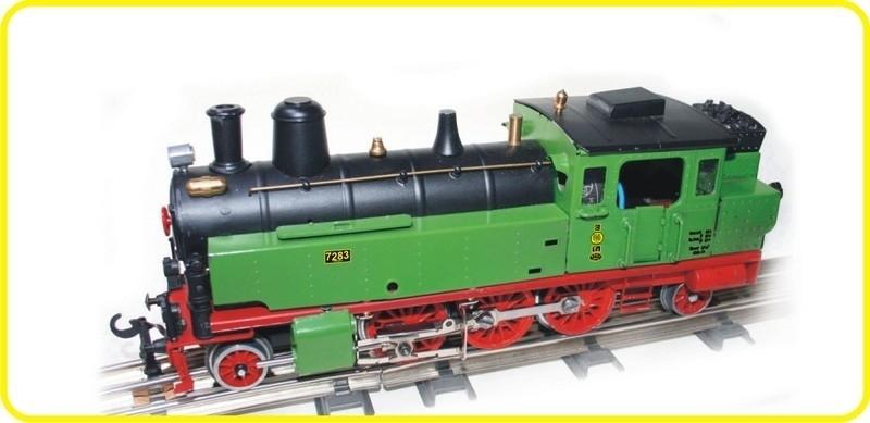 8160 Dampflokomotive K.P.E.V.