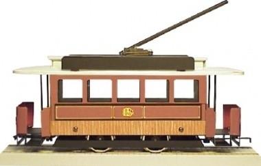 55 Czech Republic, tram from Brno, metal, gauge 0