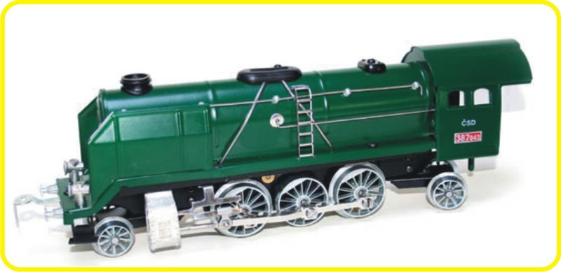 9153 steamlocomotive Mikado 387 green