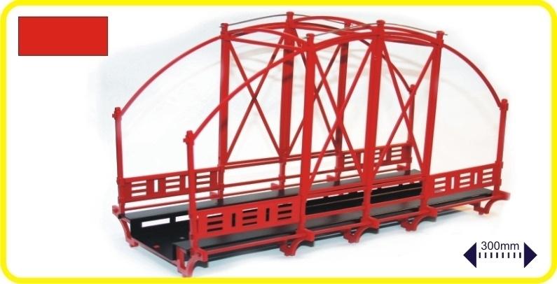9975 Stalen brug - rood