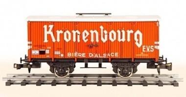 454 beer van Kronenbourg SNCF