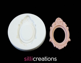 Sillicreations Mould | Cameo Frame