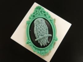Sillicreations Mould | Owl Cameo