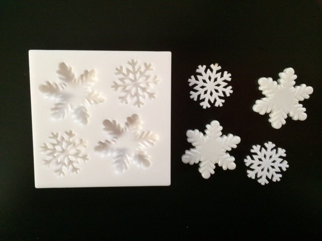 Sillicreations Mould | SNOW FLAKES