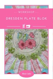 Dresden plate blok