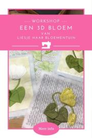 Een 3D bloem maken