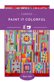 Paint it colorful cursus - 4 lessen