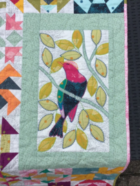 De paradijsvogels sampler quilt