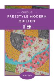 Freestyle modern quilten cursus - 4 lessen