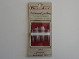 Piecemakers - Between / quilting needles  12-B8/12