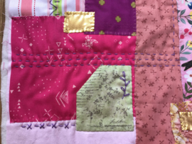 Brievenbus pakket vogel - roze