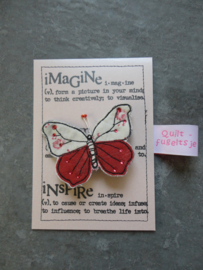 vlinder broche