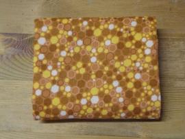 RJR fabrics - Hexies oranje/bruin 2034-19