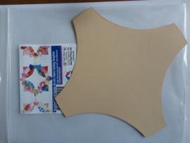 Brimfield  middendeel acryl mal + karton