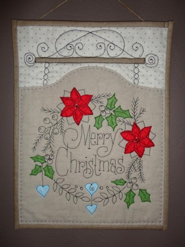 """uithang bord """"merry christmas"""""""