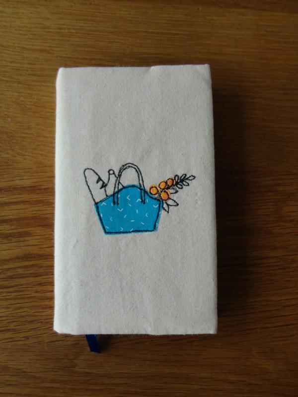 notitieboekje met omslag