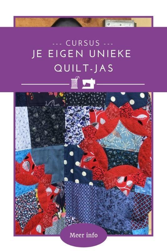 Je eigen unieke Quilt-jas