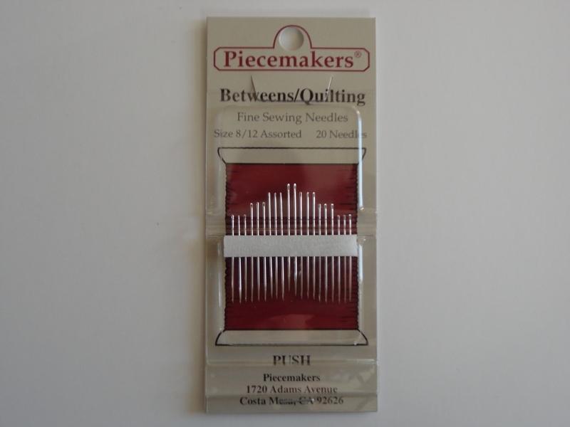 Piecemakers - Between / quilting needles  12-B8/12