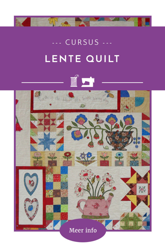 Lente quilt cursus  -     10 lessen
