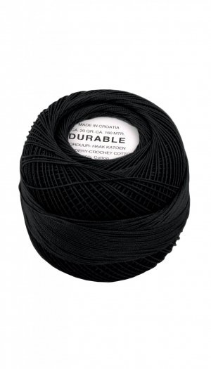 durable borduurkatoen nr 1001-zwart