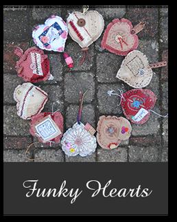 DIY pakket 'Funky Hearts'